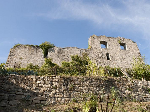 Ruine Burg der Herren von Sachsenheim (Untermberg)
