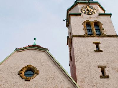 Bild: Jugendstilkirche (Metterzimmern)