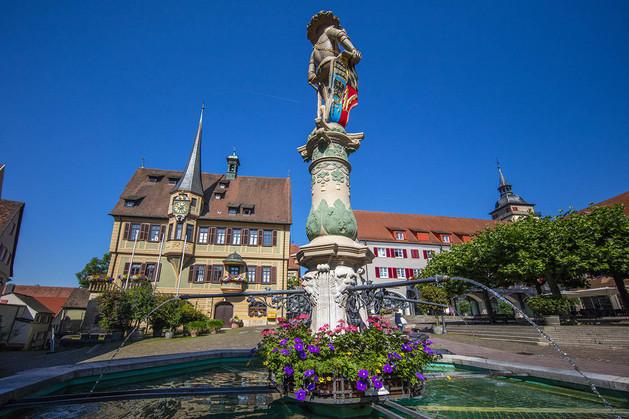 Marktbrunnen  Bild: Achim Mende