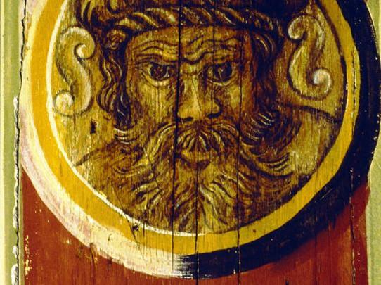 Hornmoldhaus Wandmalerei
