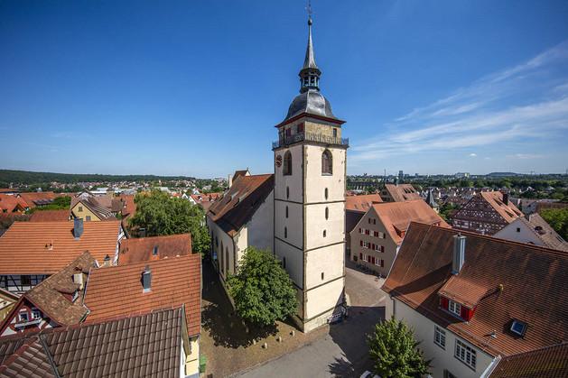 Stadtkirche Bietigheim  Bild: Achim Mende